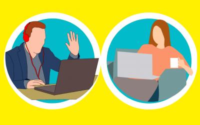 Schlips, Kragen, Kostüm und ein Lächeln? – VideoChat im Service und Sales.