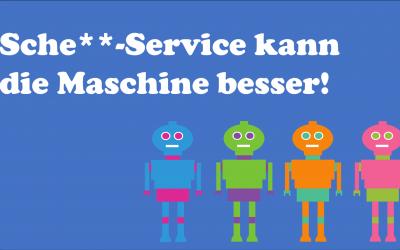 StackofStones' Abenteuer im Service-Land – Heute: Sche**-Service kann die Maschine besser!