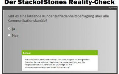 StackofStones: Wie steht es um Ihre (digitale) Qualität im Kundenservice? Machen Sie den Reality-Check-Test!