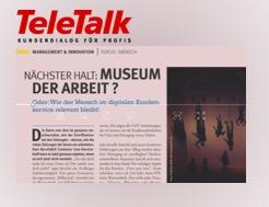 Nächster Halt: Museum der Arbeit! – Aus TeleTalk 07/19