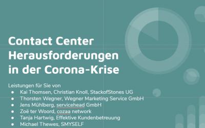 Corona-Strategien im Kundenservice: Strategiepapier für Contact Center in der Coronavirus-Krise (PDF)