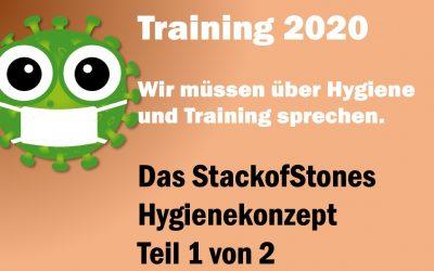 Training 2020 – Wir müssen über Hygiene und Training sprechen – Hygiene-Konzept Teil 1