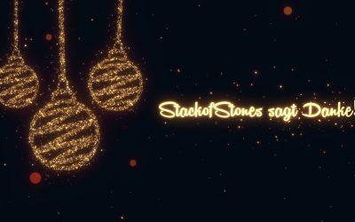 StackofStones wünscht frohe Weihnachten!